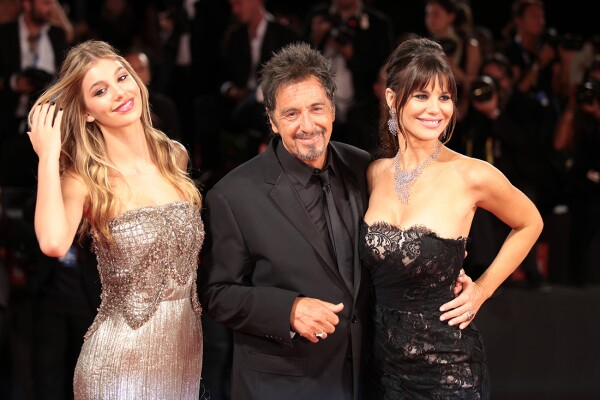 Al Pacino, Lucila Sola, and Camila Sola