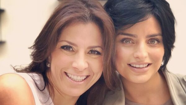 Alessandra Rosaldo y Aislinn Derbez