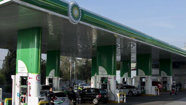 gasolinera de BP