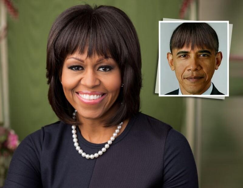 El presidente emitió un discurso lleno de humor en la cena  de corresponsales de la Casa Blanca, uno de sus chistes apuntó a imitar el look de su esposa para mejorar su imagen.