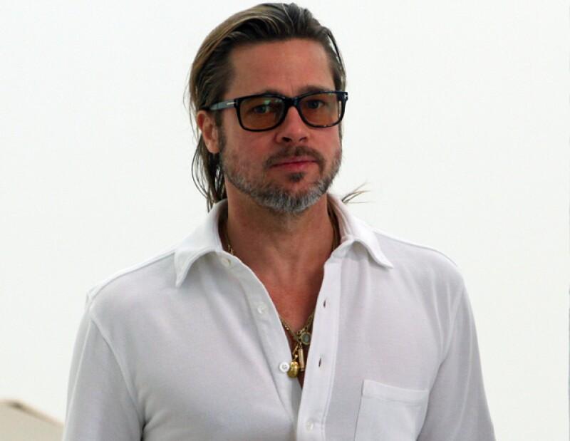 El histrión admitió que tiene planeado contraer nupcias con Angelina Jolie, sin embargo aún no tienen una fecha para el enlace.