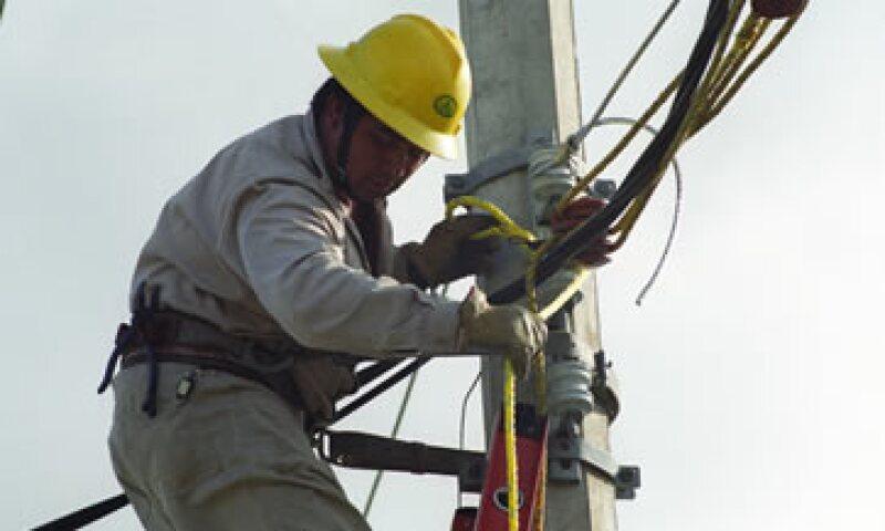 Trabajador (Foto: Cortesía de la CFE)