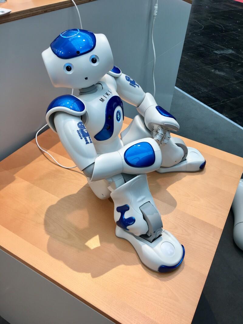 Niños y robots