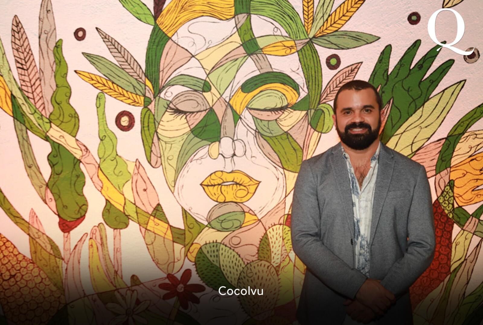 Develación del mural en Bistró Chapultepec