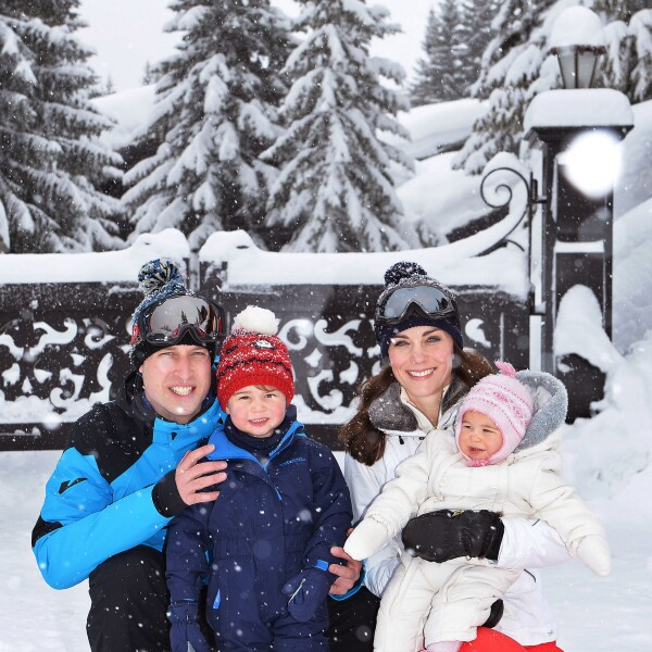 The Duke and Duchess of Cambridge Enjoy Skiing Holiday
