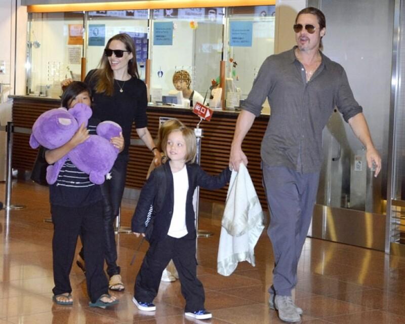 La familia Jolie-Pitt es una de las más unidas del showbiz..