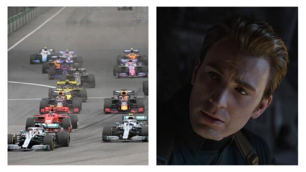 Avengers: Endgame con Fórmula E y Fórmula 1