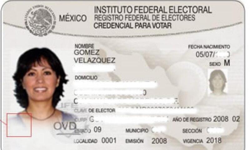 La nueva credencial entrará en circulación a finales de 2013. (Foto: Tomada de la convocatoria para la licitación.)