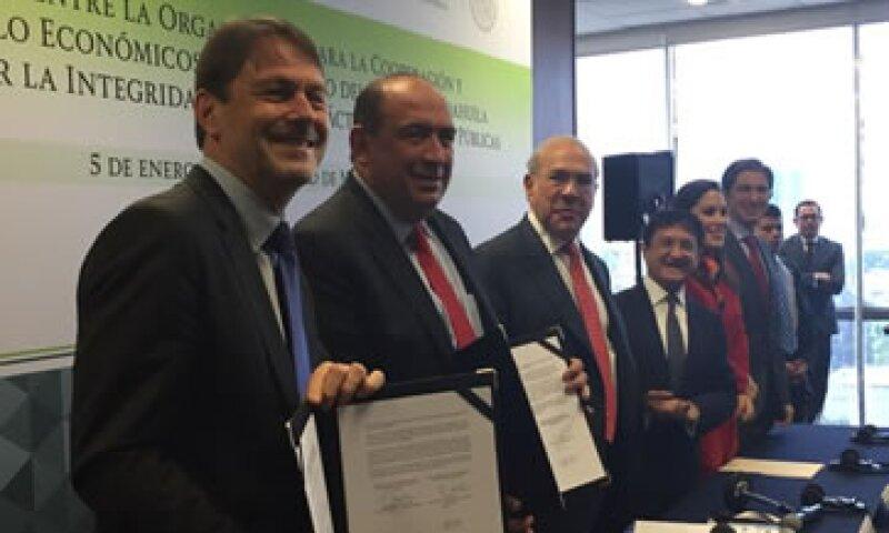 Los niveles de crecimiento que está mostrando México son de los mejores dentro de la OCDE, dijo Gurría. (Foto: OCDE/ Cortesía )