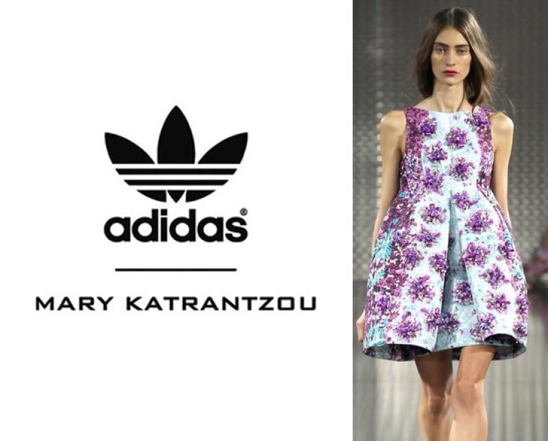 Mary Katrantzou y Adidas