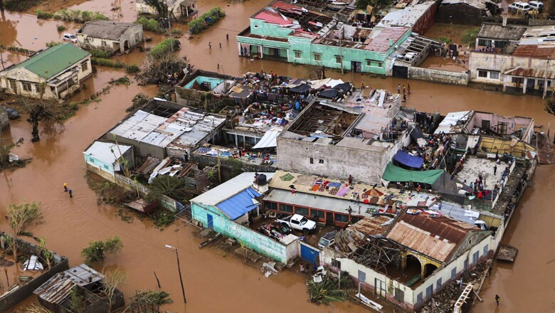 MOZAMBIQUE-WEATHER-CYCLONE
