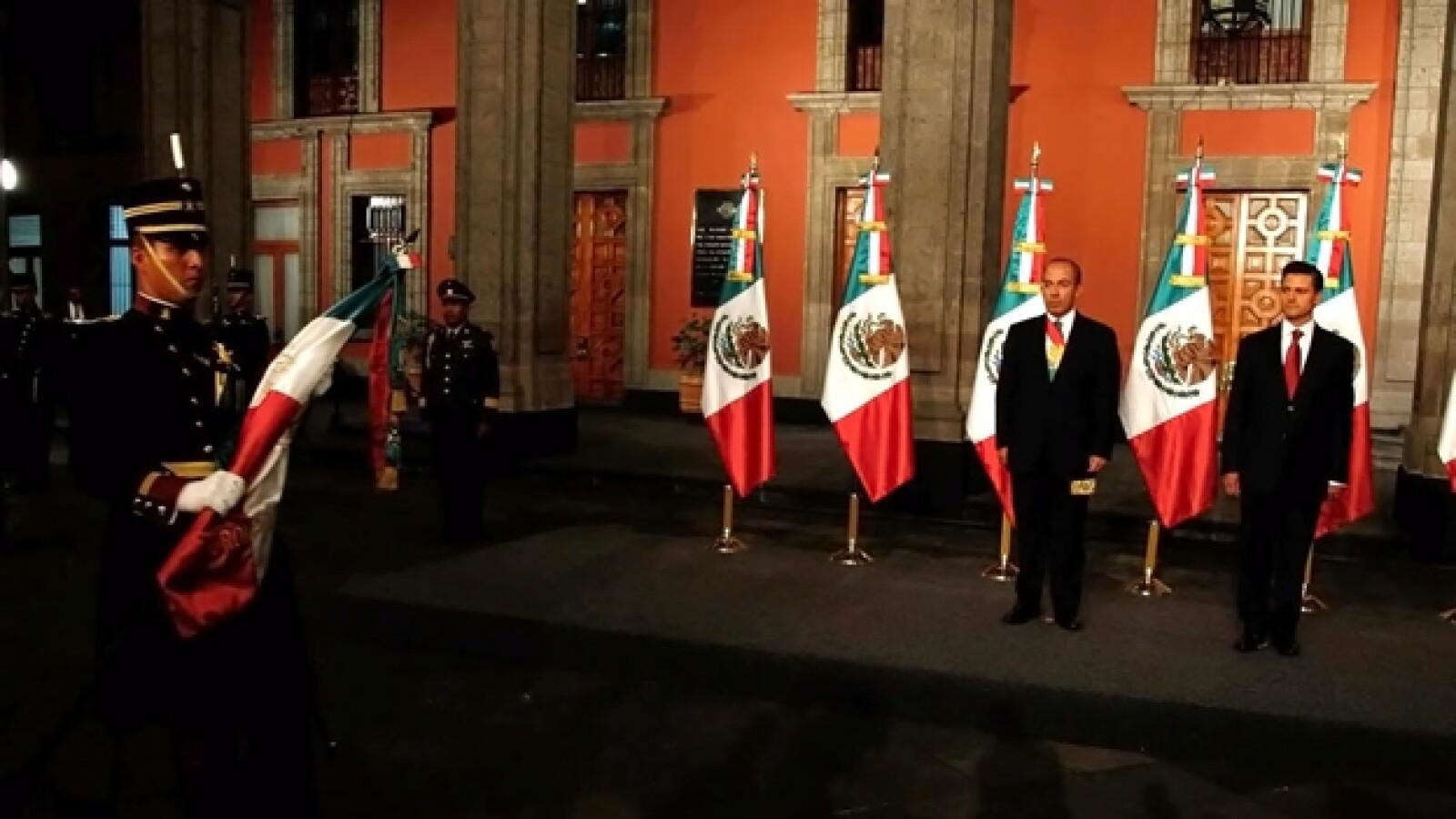 Felipe Calderón y Enrique Peña