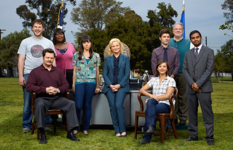 El elenco de Parks and Recreation.
