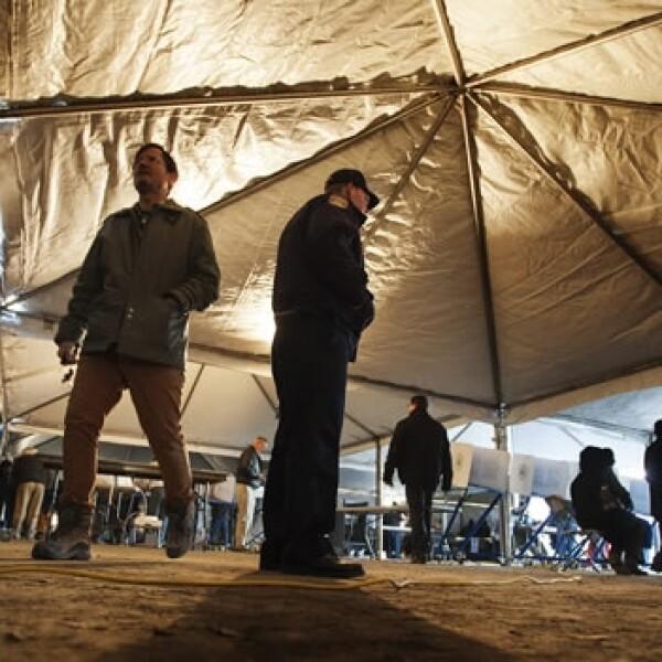 elecciones estados unidos estados afectados Sandy NY