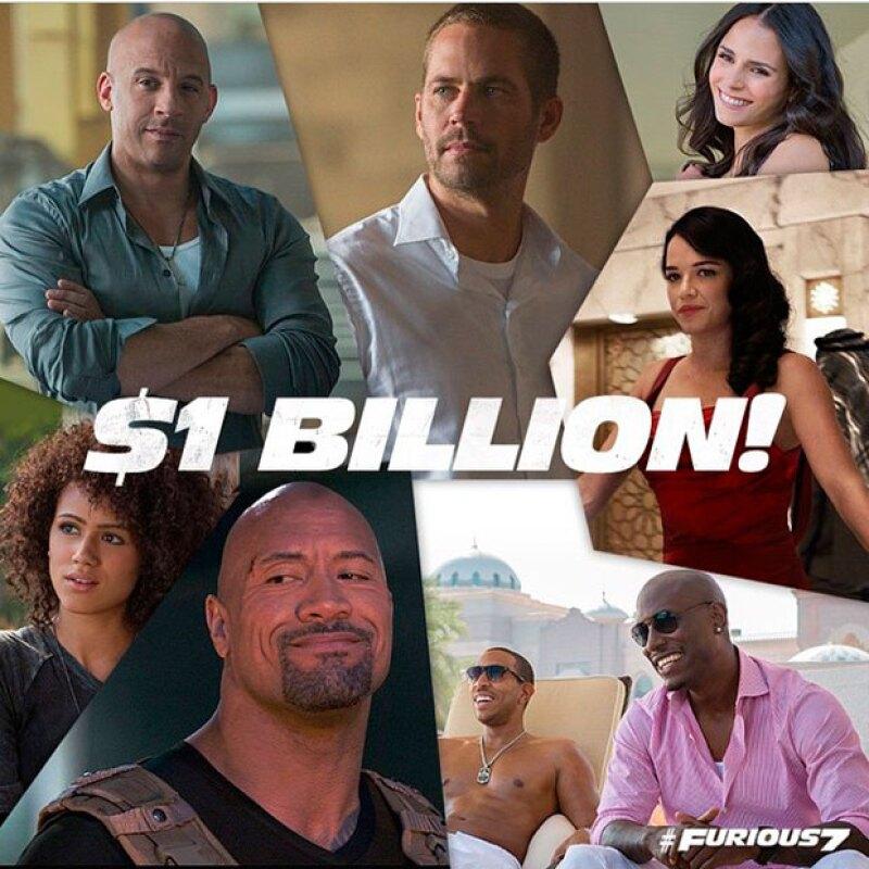 Tan solo han transcurrido un par de semanas desde el estreno de la cinta, pero sólo eso ha bastado para superar el billón de dólares en taquilla.
