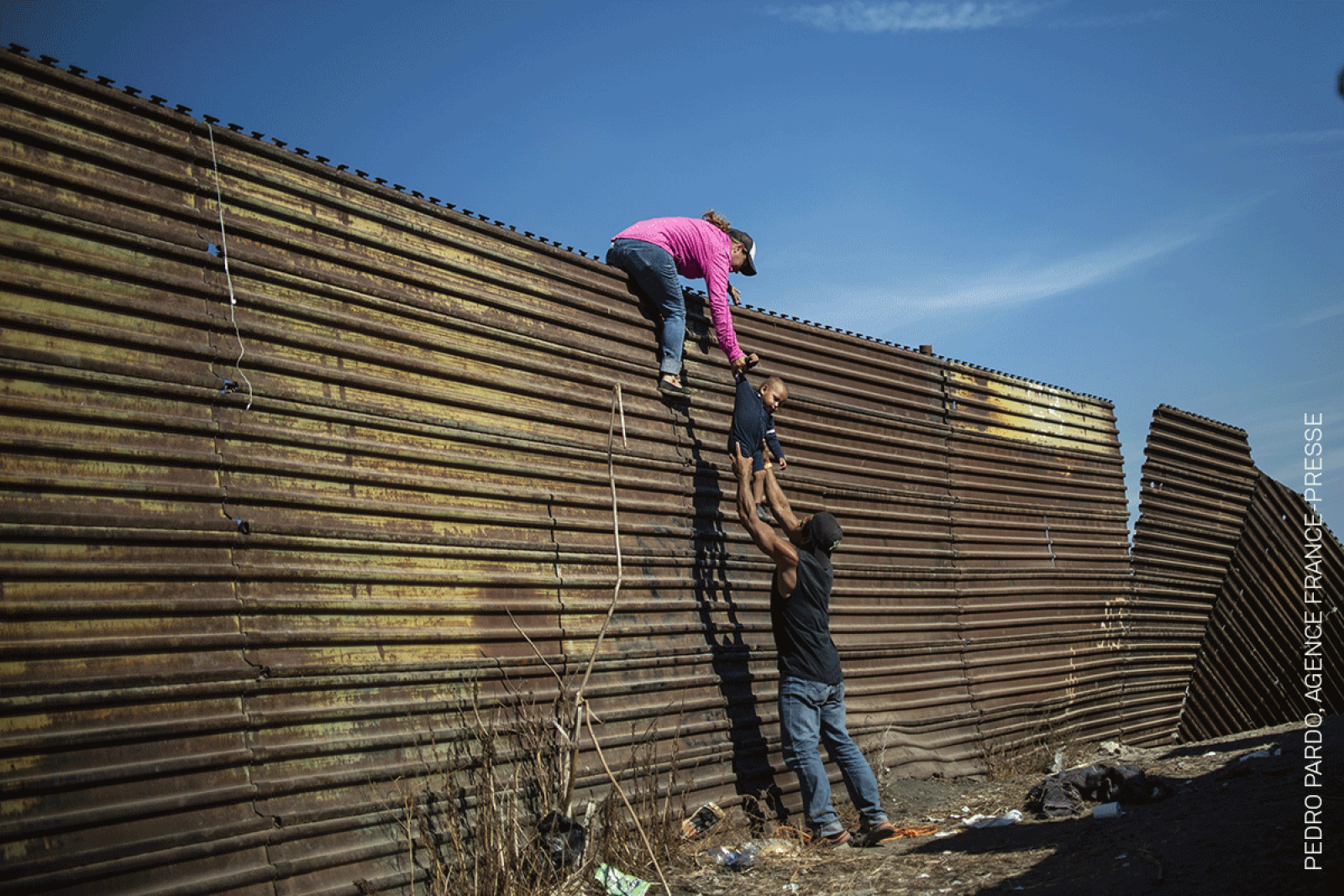 Climbing the Border Fence