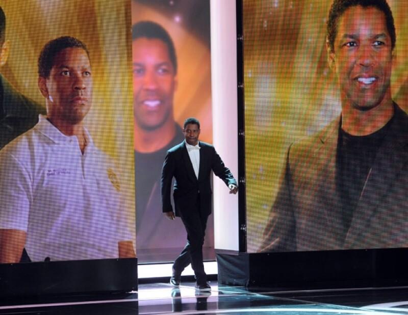 Denzel Washington se alzó con el premio a Mejor Actor Internacional.