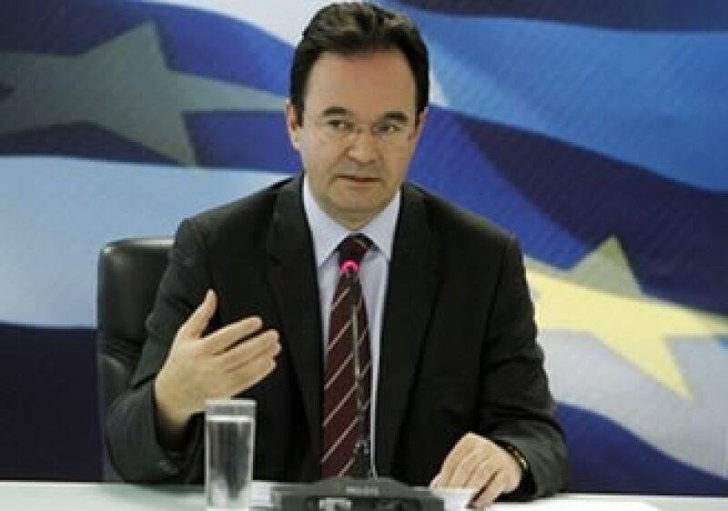Anteriormente el ministro de Finanzas, George Papaconstantinou declaró que buscaba construir una organización confiable. (Foto: AP)
