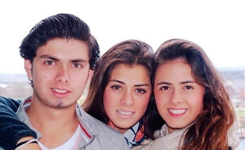 Alejandro, Paulina y Nicole son los tres hijos del matrimonio de Enrique Peña y Mónica Pretelini.