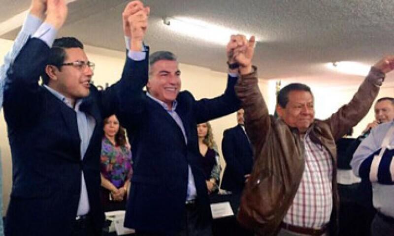 Antonio Gali Fayad se registró ante el Instituto Electoral Estatal de Puebla. (Foto: Twitter/ TonyGali)