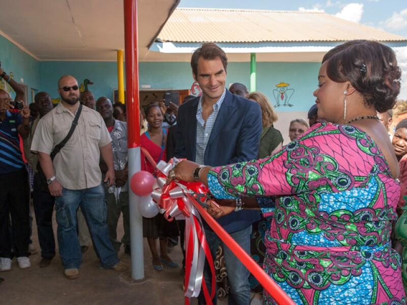 Junto a Patricia Kaliati en la inauguración del nuevo centro.