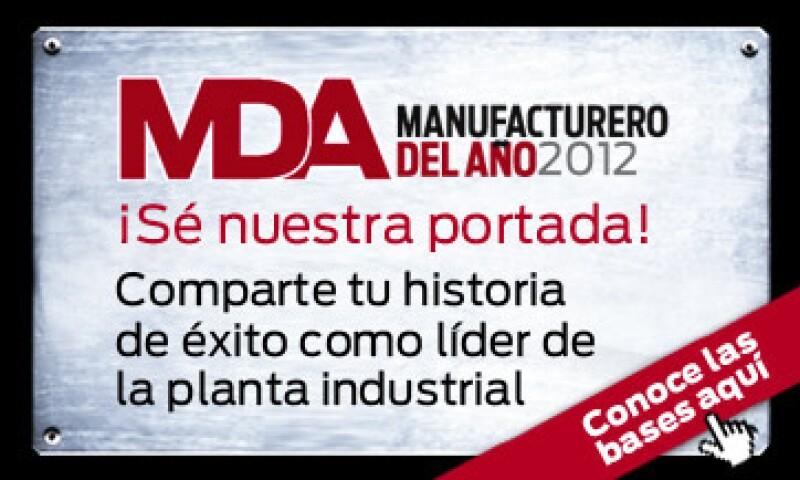 Manufacturero del Año 2012 (Foto: Manufactura)