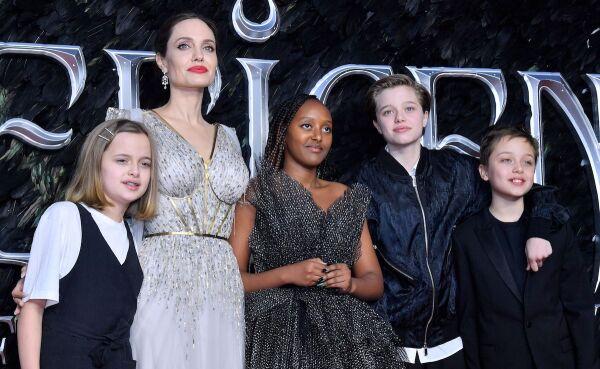 Familia de Angelina Jolie