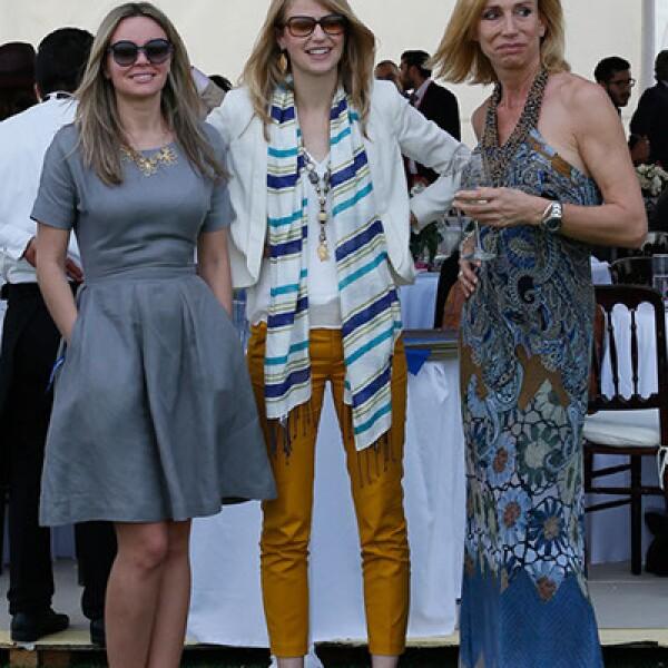 Anita Gerhardler,Nikki Wilson y Tatiana Ohnyeva