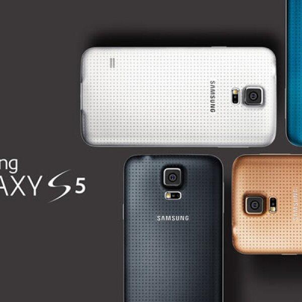 Este lunes la surcoreana Samsung presentó la nueva versión de su teléfono insignia, el Galaxy S5.