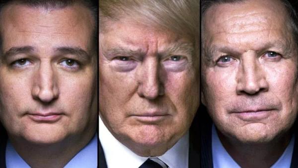 Ted Cruz y John Kasich buscan frenar a Donald Trump en su camino hacia la nominación presidencial republicana.