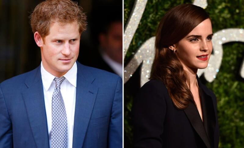 Desde hace unas horas han circulado por la red rumores sobre un supuesto romance entre la actriz y el hermano del príncipe William.