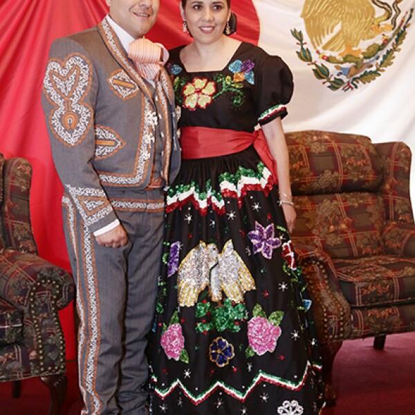 Abraham Borden y Roxana Güémes