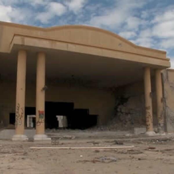 Libia - Sirte - casa de Gadhafi