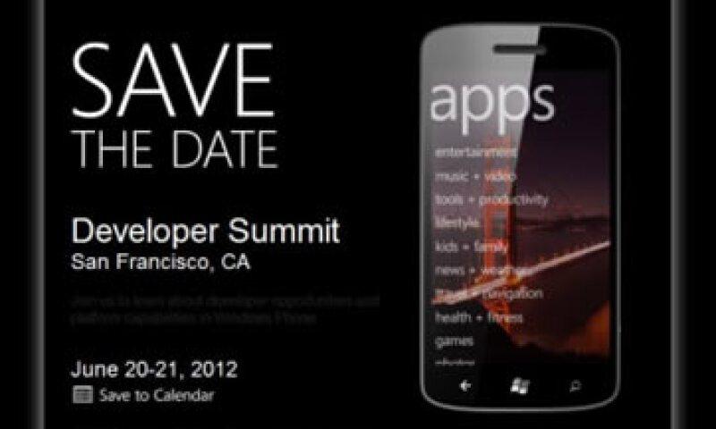 En la cumbre que organizó Microsoft se dará a conocer el nuevo Windows Phone.  (Foto: Cortesía Fortune)