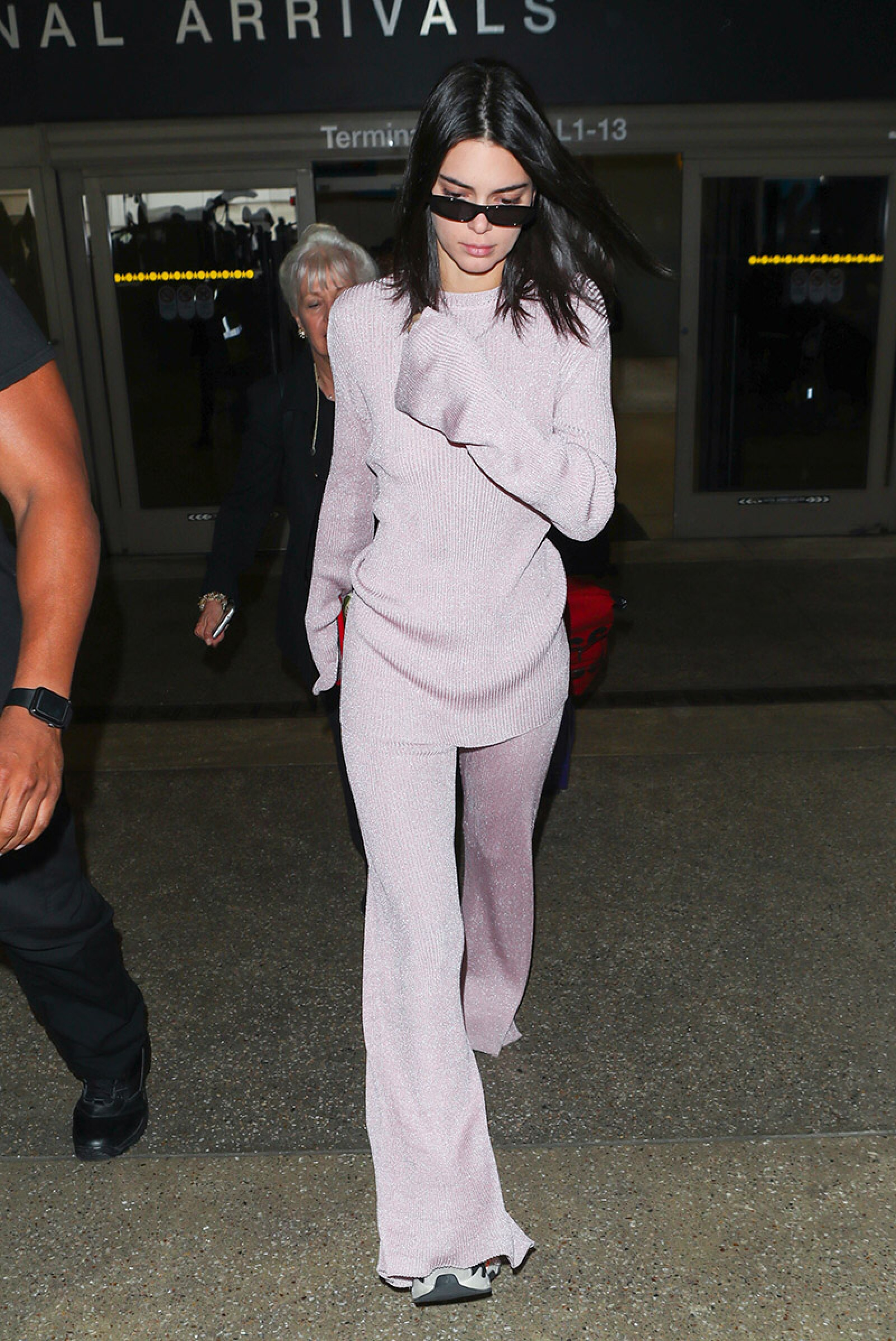 Kendall Jenner at LAX International Airport, Los Angeles, USA - 28 Sep 2018