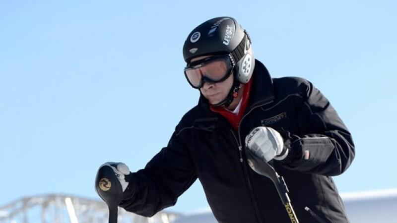 vladimir putin esqui sochi juegos de invierno