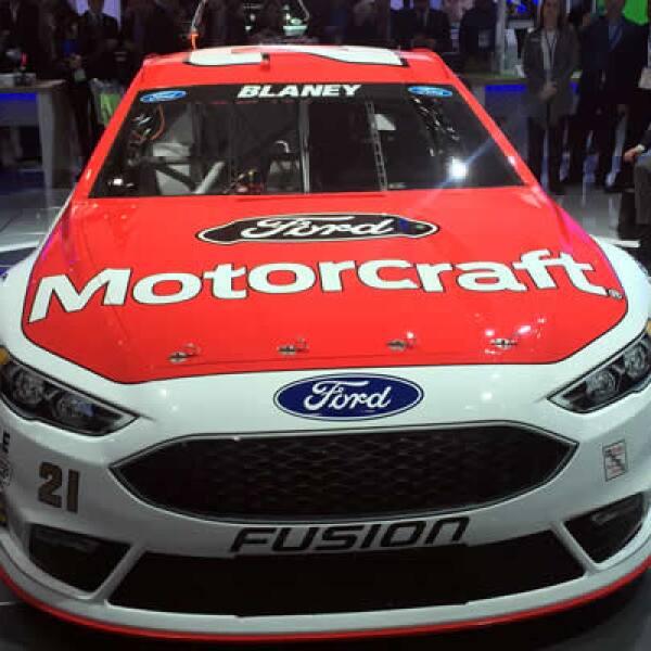 El nuevo racer de Ford con el que competirán en la carrera de LeMans en junio.