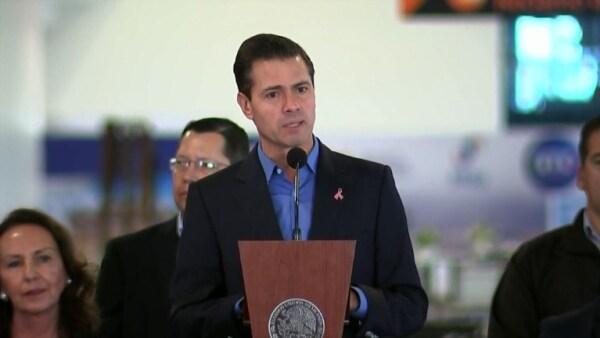 """Peña Nieto celebra el acuerdo comercial """"modernizado"""" con EU y Canadá"""