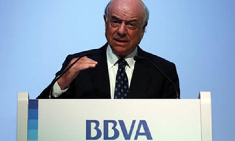 Francisco González consideró suficientemente capitalizado el sector financiero de España. (Foto: AP)