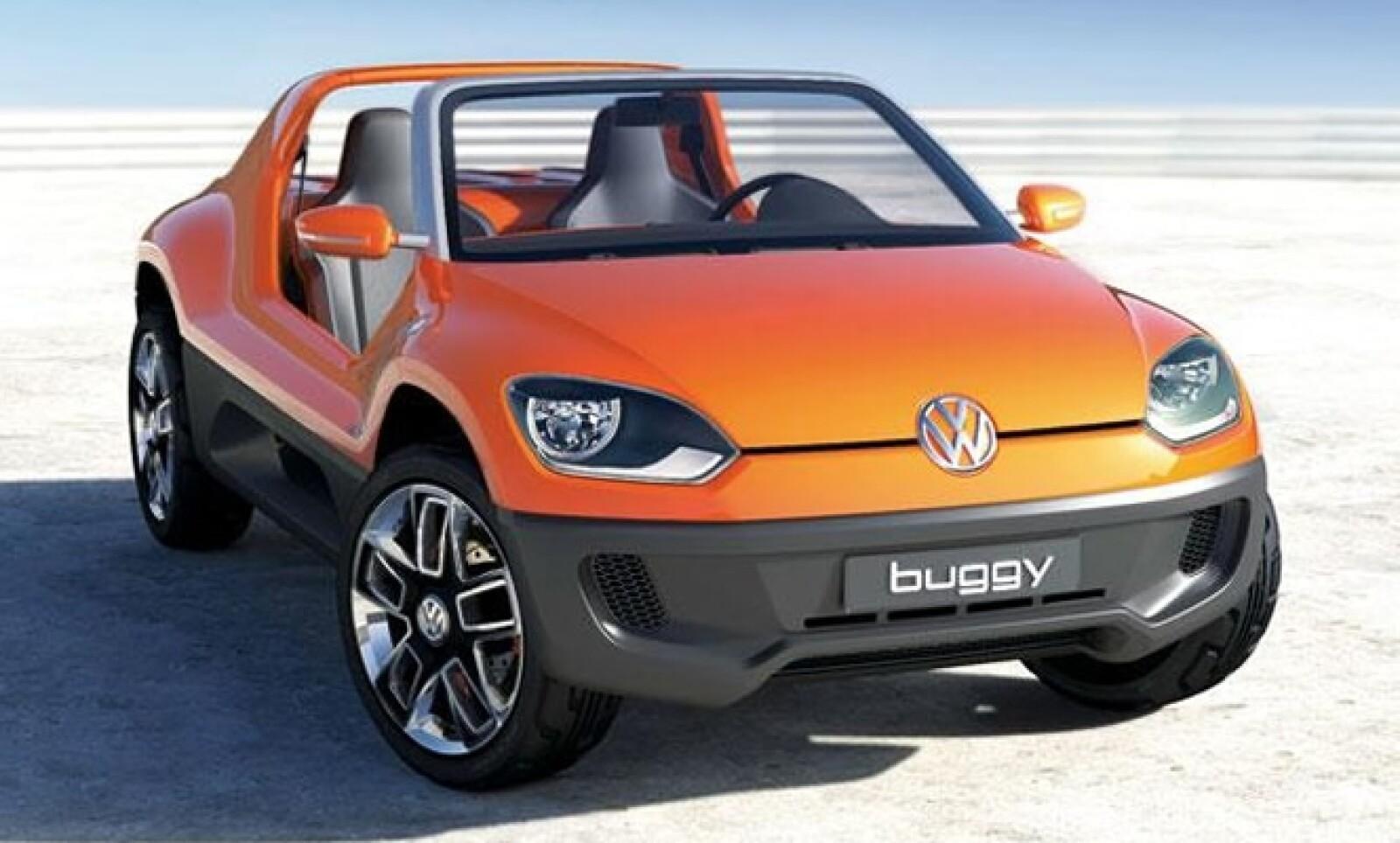 El Volkswagen Buggy Concept, es una de las variantes que surgió del modelo Up!, presentado oficialmente en el AutoShow de Ginebra.