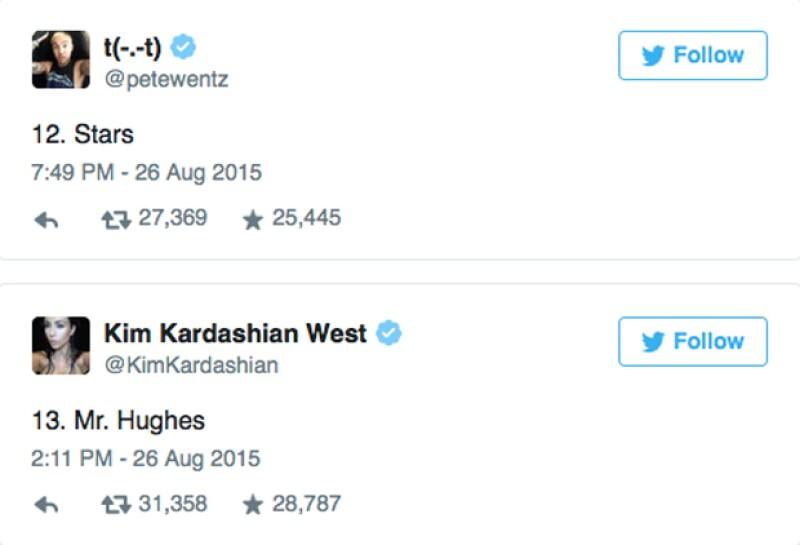 Kim Kardashian fue la encargada en revelar el último de los temas.