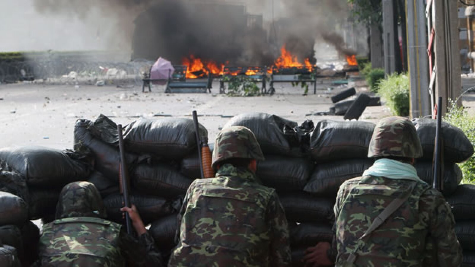 Tailandia protestas militares