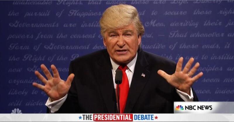 Parodia a Trump