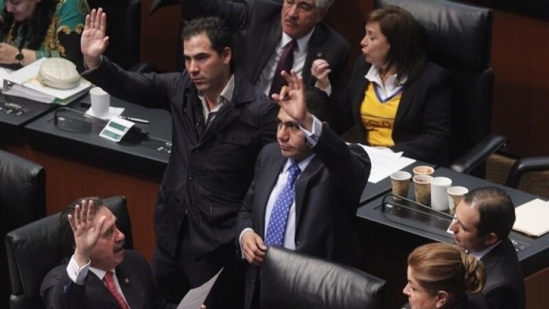 Senado en sesión