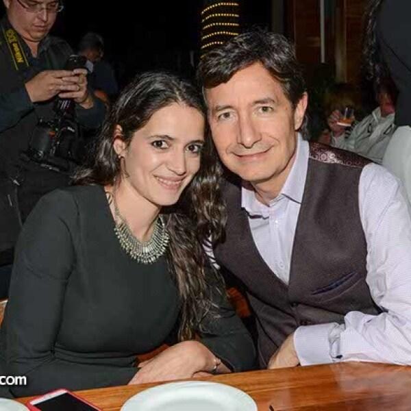 Kristel Padilla y Roberto Gómez.