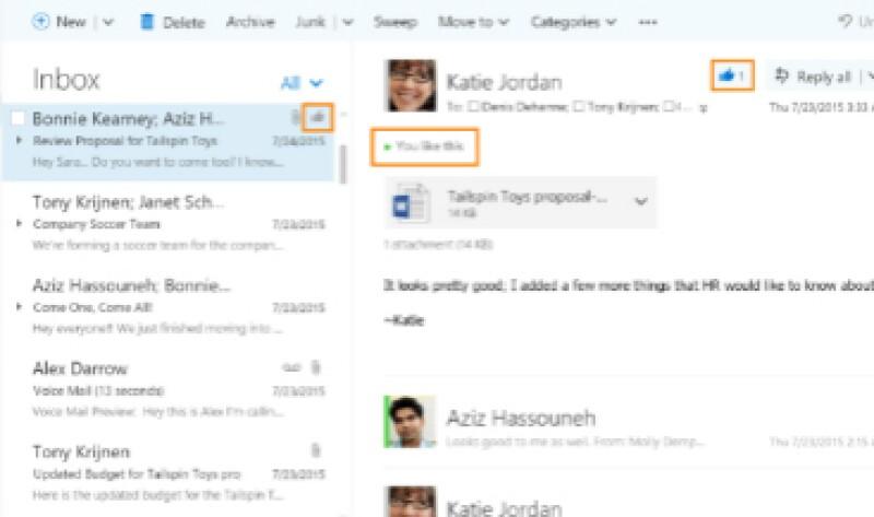 Microsoft explicó en un blog que las adiciones a Outlook eran necesarias (Foto: Microsoft/Cortesía )