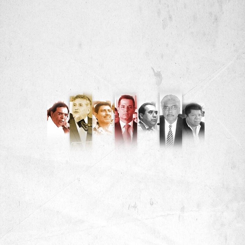 La carrera política de los candidatos a la elección del próximo 5 de junio. (Foto: Ilse Domínguez)