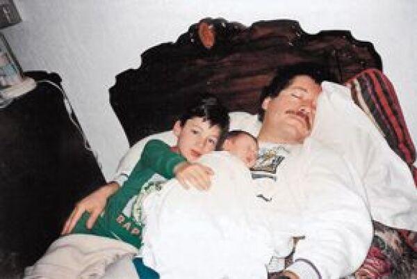 Sueño interrumpido. En 1994, Luis Donaldo y Mariana aprovechaban cada momento para estar con su padre, mientras éste buscaba la presidencia por el PRI.