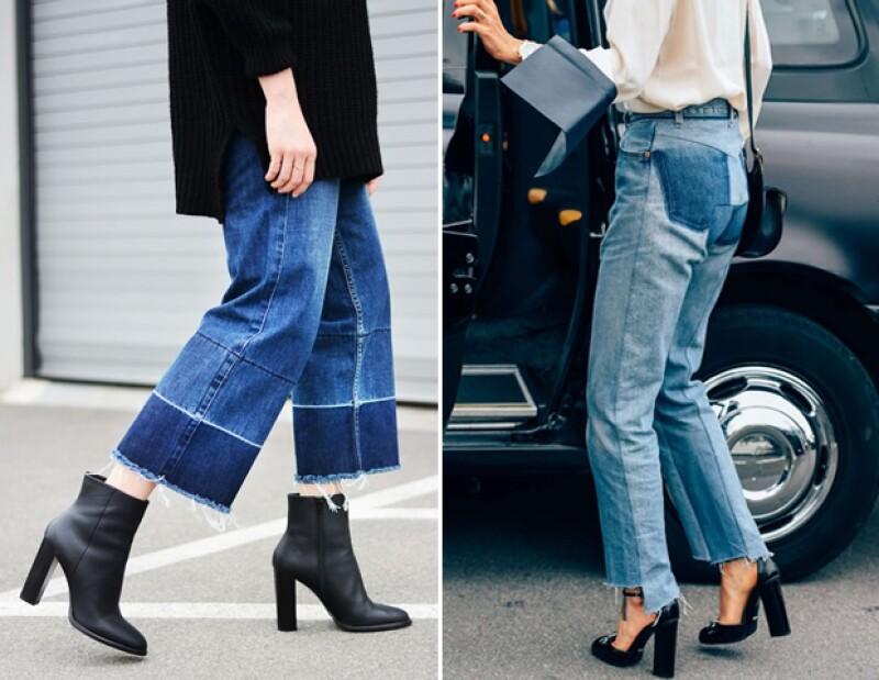 Eleva tu look al complementar estos jeans con tacones.