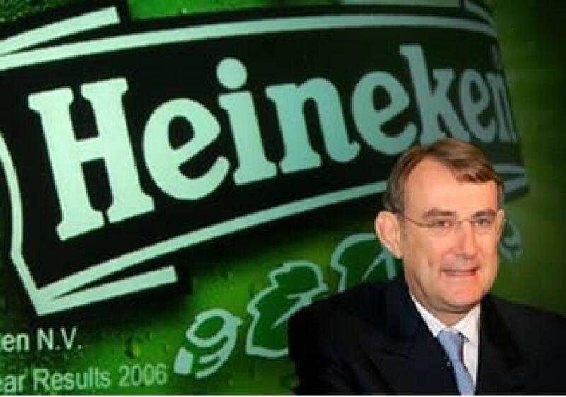 La cerveza Heineken será producida lo antes posible en México, indicó Jean-Francois Van Boxmeer, CEO de la firma. (Foto: AP)